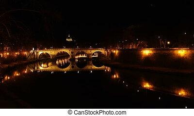 Ponte Sisto ancient Roman Bridge