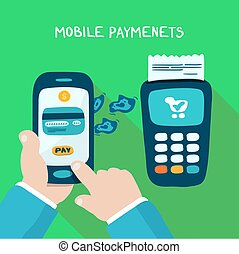 Mobile payments and near field communication. Transaction...