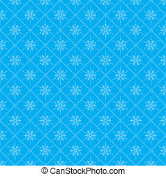 Christmas seamless background with Snowflakes, element for...