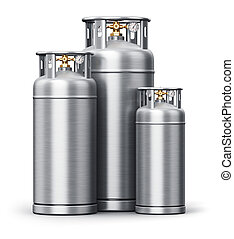 Stainless steel high pressure industrial containers for...