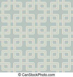 Antique seamless background square cross chain geometry