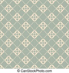 Antique seamless background tracery curve flower