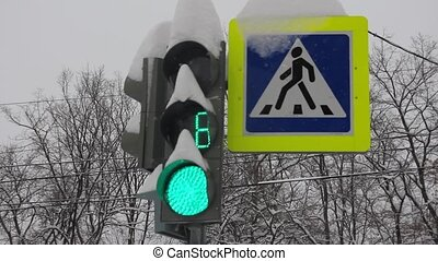 snow light switch light signals