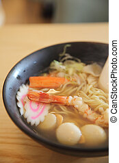 ramen seafood japanese food