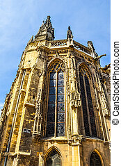 HDR Saint Pierre Abbey Caen - High dynamic range (HDR) Saint...
