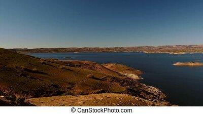 Barrier Lake - Barrage El-Hansali, Morocco