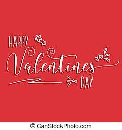 Decorative Valentine's Day background - Valentine's Day...