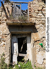 the country abandoned papaionti in Calabria