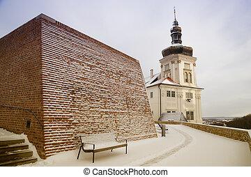 Former Jesuit College in Kutna Hora - Tower of former Jesuit...