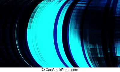 Rolling geometric looping blue and darkness VJ element -...