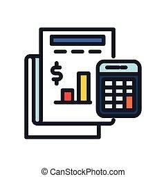 income calculation icon color