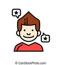 client compliment icon color