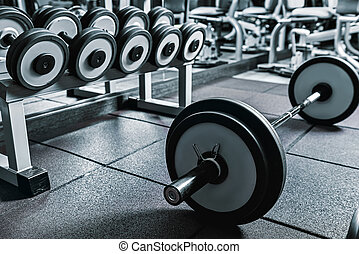 Indispensable necessary equipment for exercises - Big heavy...