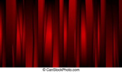 Dark red tech abstract vertical stripes video animation -...