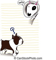 cartoon dog collar