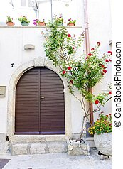 Krk town architecture, Croatia - Traditional old Krk town...