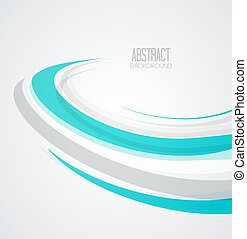 Vector abstract wave background light background with place...