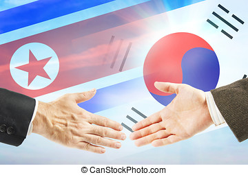 Concept of friendly relations between North and South Korea