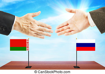 Friendly relations between Belarus and Russia. International...