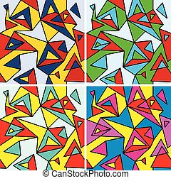 Fragments of cubism - Fragments of the abstraction, cubism...