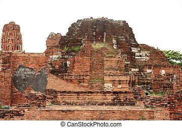 Wat Mahathat in Ayutthaya, Thailand