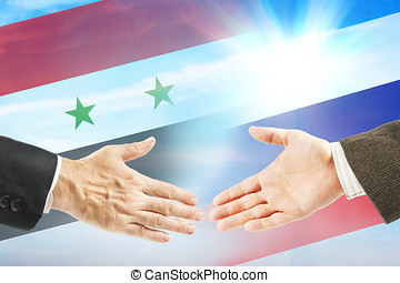 Friendly relations between Russia and Syria. International...