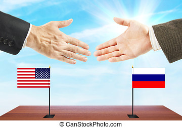 Relations between Russia and the United States. Concept of...