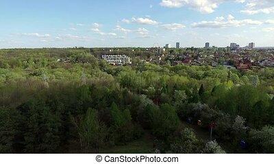 Kharkiv city center with Gorky park - Kharkiv city center...