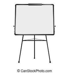 Flip chart. Vector illustration