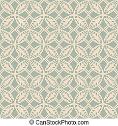 Antique seamless background round square cross