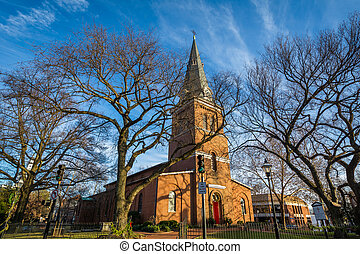 St. Anne's Parish, in Annapolis, Maryland.