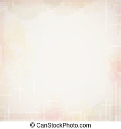 Vector grungy beige background with colored spots.