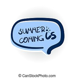 summer is coming comic text shadow - summer is coming, sun...