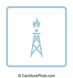 Gas tower icon
