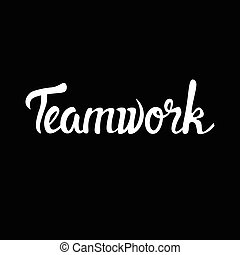 Teamwork Business Cooperation Management Infographic