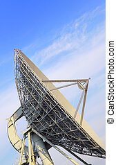 Big satellite antenna detail - Big telecommunication...