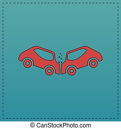crash computer symbol