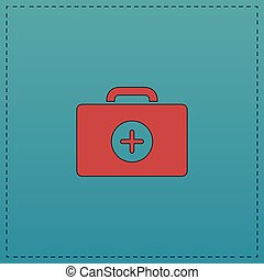 first aid kit computer symbol