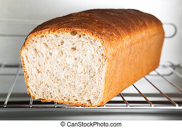 Loaf Of Wheat Bread - A loaf of delicious freshly baked...