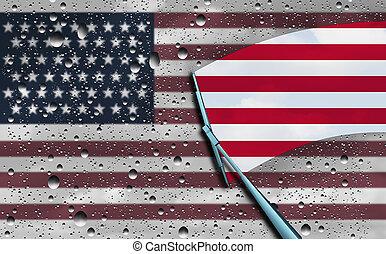 アメリカ人, 楽天主義
