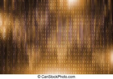 Golden Digital Encryption Conceptual Background...
