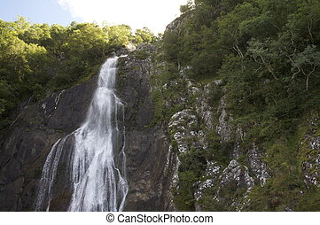 Aber falls Or Rhaeadr fawr in Welsh On Carneddau mountain...