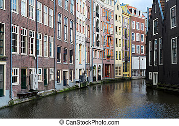 Houses of Amstardam, Netherlands