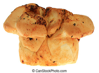Garlic Bread - A photo of some garlic bread set against a...