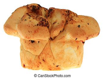 Garlic Bread - A photo of some garlic bread set against a...