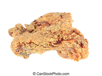 Fried Chicken - A stock photo of some fried chicken set...