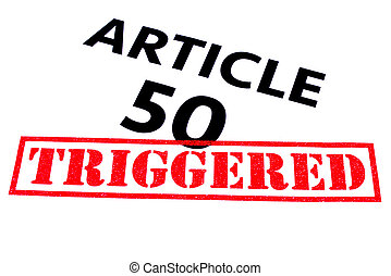 ARTICLE 50 TRIGGERED - ARTICLE 50 title rubber stamped as...