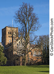 St. Albans Cathedral - A view of the magnificent St. Albans...