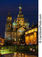 The Church of the Savior on Spilled Blood, Saint Petersburg...