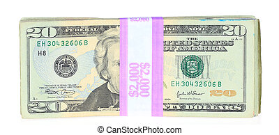 Two Thousand Dollars - A photo of two thousand dollars set...